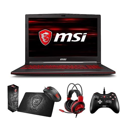 Amazon.com: MSI GL63 8RC-068 (i7-8750H, 16GB RAM, 128GB SATA SSD + 1TB HDD, NVIDIA GTX 1050 4GB, 15.6