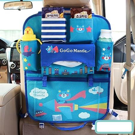 Cartoon Rücksitz Auto Organizer Für Kinder Babys Kleinkinder Reisezubehör Kinder Spielzeug Lagerung Rückenlehnenschutz Auto