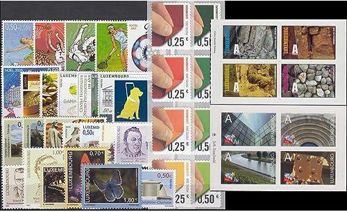 Goldhahn Luxemburg 2005 postfrisch  Nr. 1659-1699 Briefmarken für Sammler
