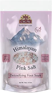 Sponsored Ad - Himalayan Pink Salt Soothing Mineral Soak Leaves Feet Feeling Cleansed,Refreshed and Relaxed No Parabens,No...