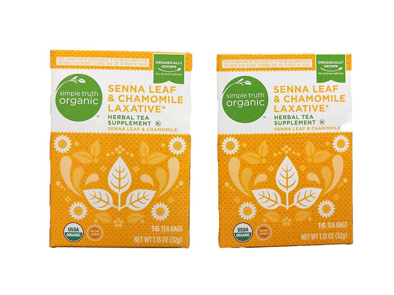 Simple Truth Organic Senna Popular brand Leaf Laxative Herbal Tea Chamomile Selling