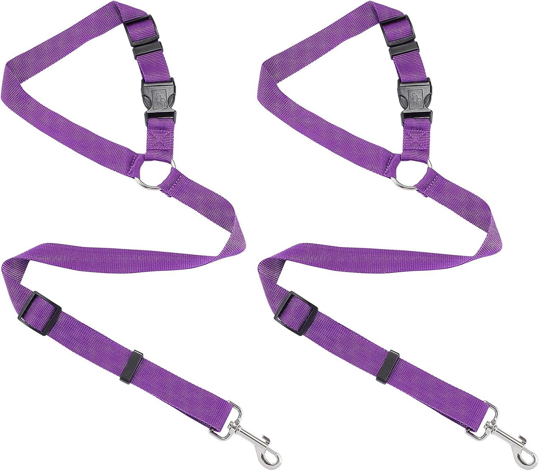 Balacoo 2 Packs Dog Seat Belt National uniform free shipping Puppy Regular store Harness Safety Leads fo