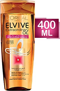 L'Oreal Paris Elvive Extraordinary Oil Shampoo 400ml for Normal to Dry Hair