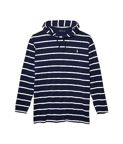 Polo Ralph Lauren Big & Tall Big Tall Long Sleeve T-Shirt (Newport Navy/White) Men