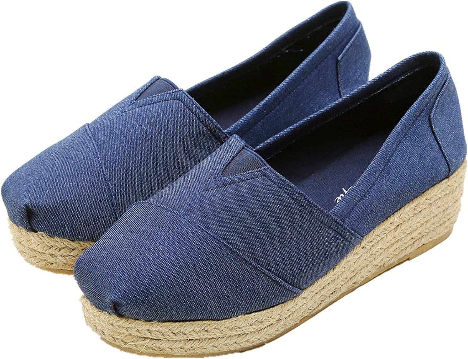 Super frist Women's HIGHSMITH Espadrille Flat Casual Slip-On shoes