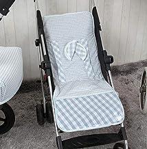 Babyline Summer - Colchoneta ligera para silla de paseo, color azul
