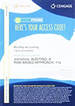 MindTap Accounting, 1 term (6 months) Printed Access Card for Johnstone/Gramling/Rittenberg's Auditing: A Risk Based-Approach, 11th