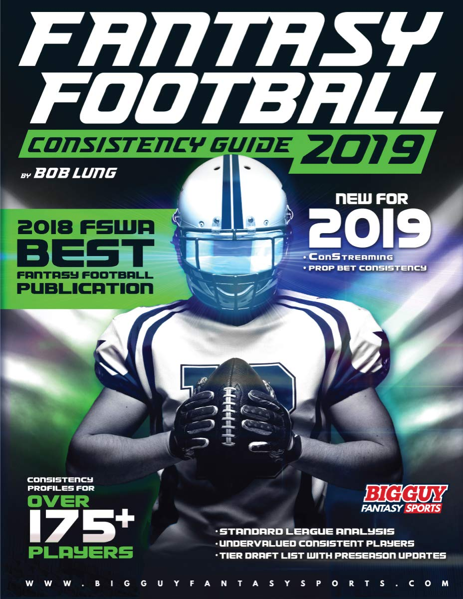 2019 Fantasy Football Consistency Guide ebook