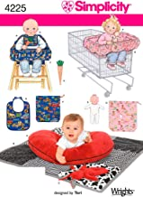 Simplicity 4225 Baby Accessory Sewing Pattern for Baby Boy and Girl by Teri, One size