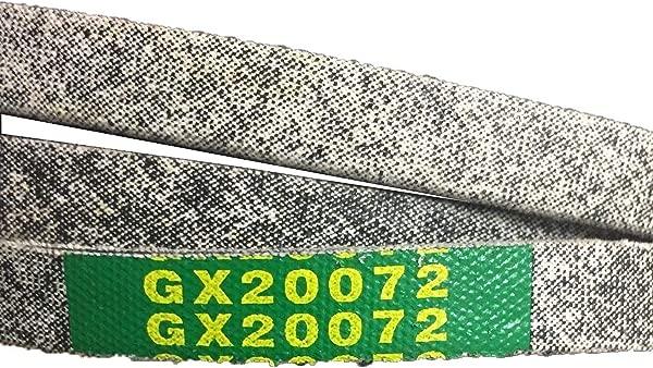EM Mower Deck Belt GX20072 42 Kevlar Compatible With John Deere LA100 LA105 LA110 LA115