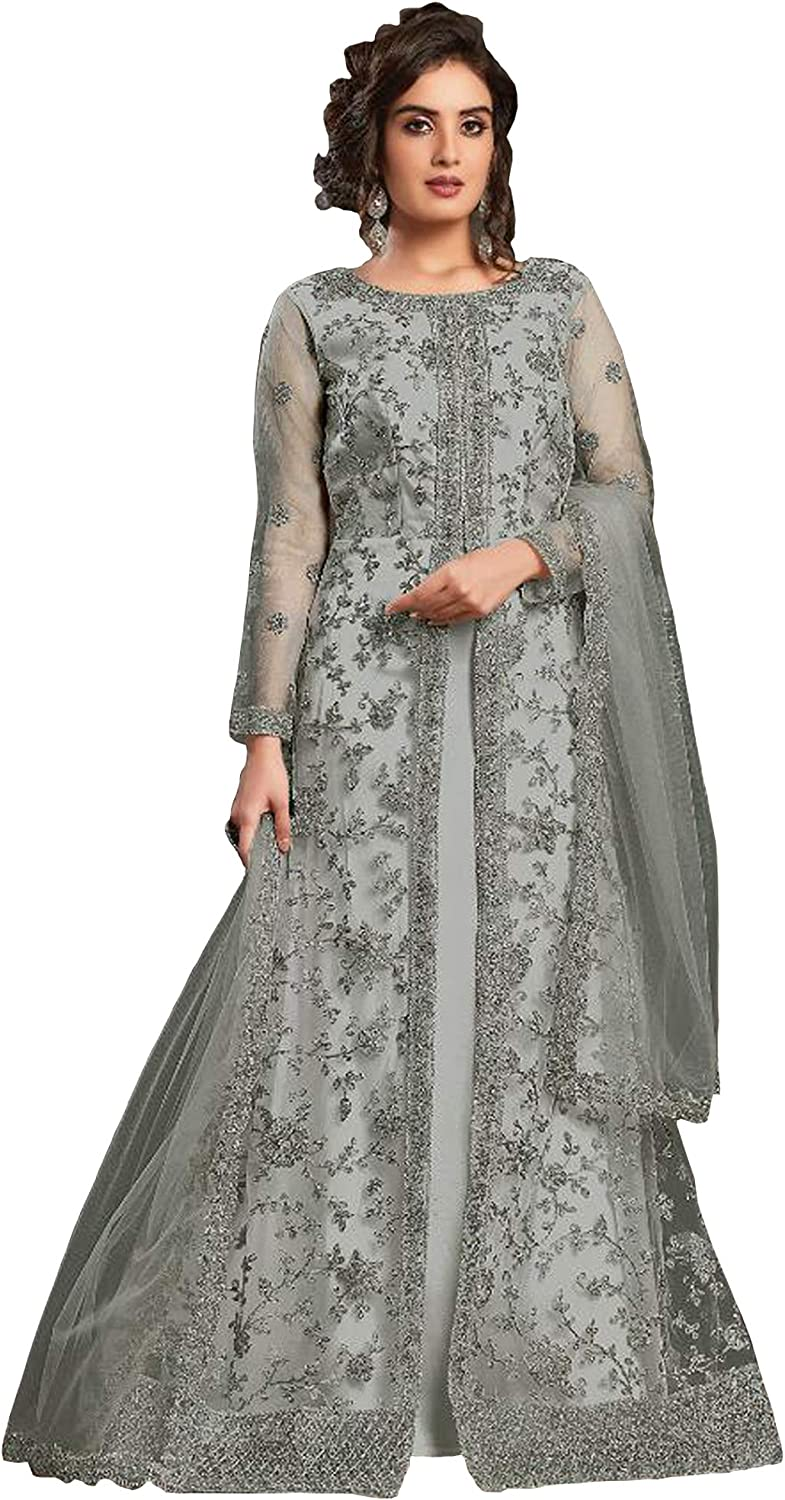 Stitched Indian San Jose Mall Bollywood Designer Collection Gow New product type Anarkali Flair
