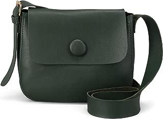 Beige Faux Leather Handbag Shoulder Bag Adjustable Strap Zipper Flap Top Purse