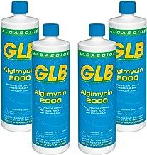 GLB 71104A-04 Algimycin 2000 Algaecide for Swimming Pools (4 Pack), 1 Quart