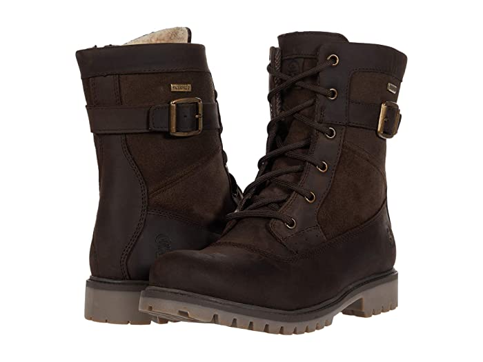 Vintage Boots, Retro Boots Kamik Rogue Mid Dark Brown Womens Boots $109.95 AT vintagedancer.com