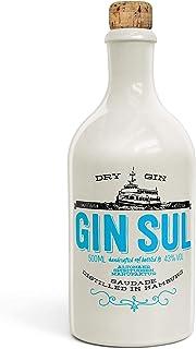 Gin Sul 1x0,5l Original Dry Gin destilliert und abgefüllt in Hamburg, hochwertige weiße Tonflasche, zarte Aromen von wildem Wacholder und Zistrosen aus Portugal