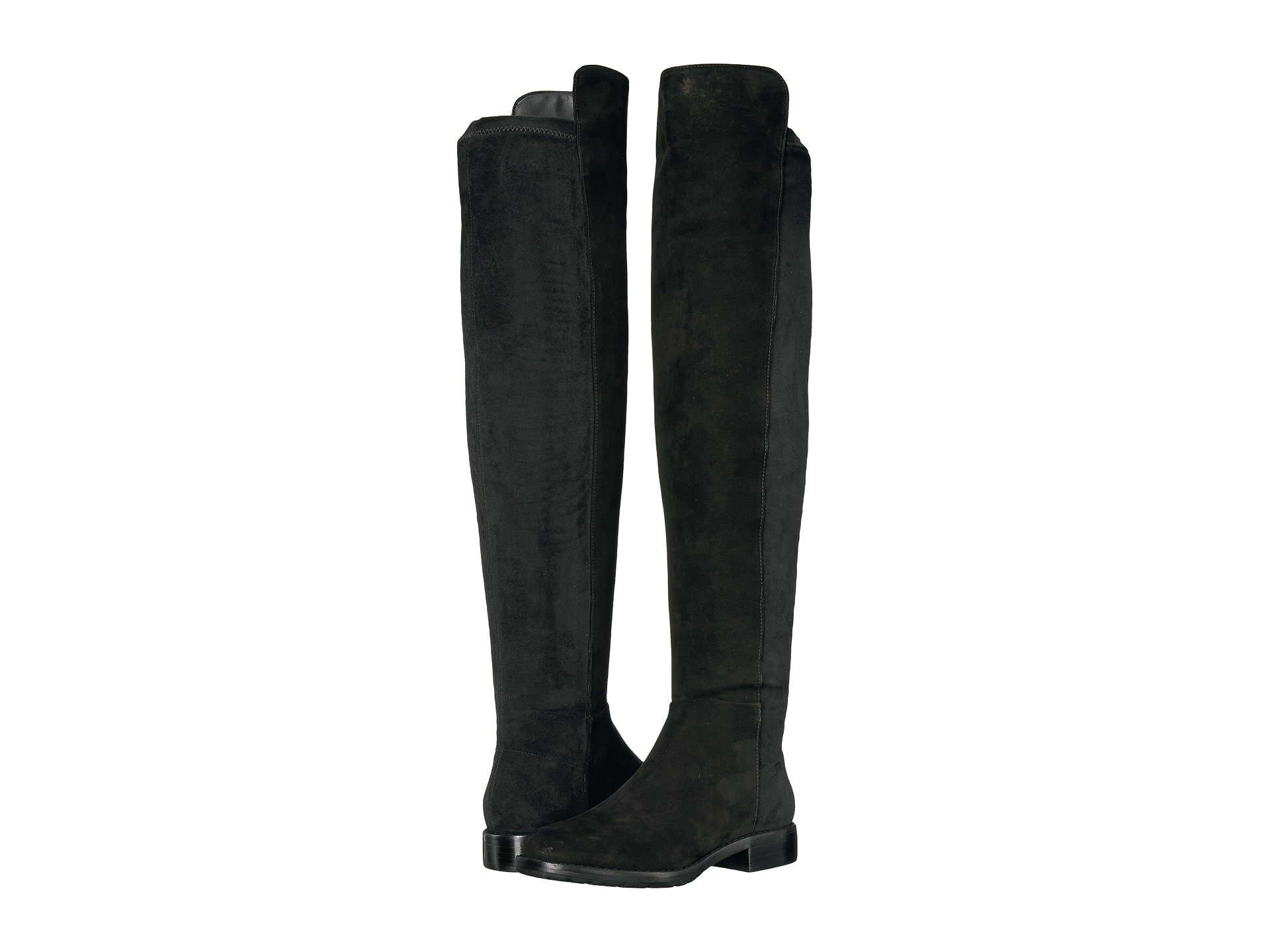 MASSIMO MATTEO Side Zip Stretch Tall Boot, Black