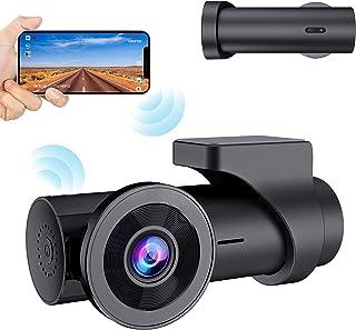 【2021 Nouvelle Version】 CHORTAU Dashcam Voiture WiFi Full HD 1080P, Caméra Embarquée Voiture sans Écran Grand Angle 170°,D...