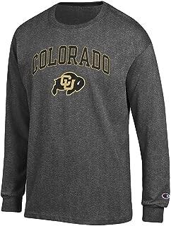Elite Fan Shop NCAA Men's Long Sleeve Shirt Charcoal Arch