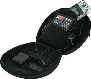 Gator G-MICRO PACK - Estuche para auriculares de DJ, color negro