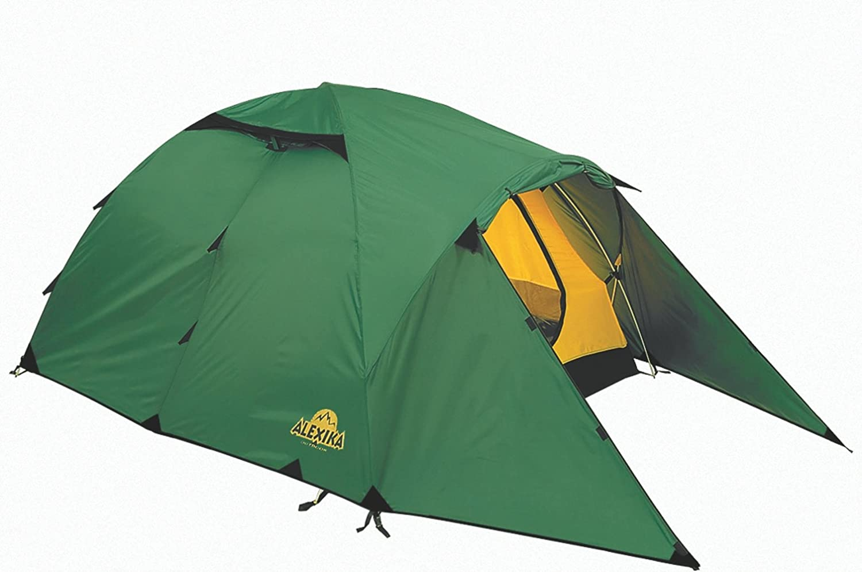 ALEXIKA Zelt Zelt Zelt Nakra 3, grün (außen) gelb (innen), 190x415x115 (BxLxH), 9124.3101 B004XM25W2  Zu einem niedrigeren Preis 8c3dcf