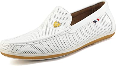 Best mens white suede loafers Reviews