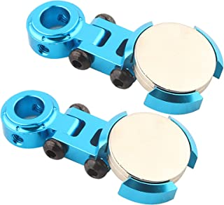 Invisible Body Post Mount, Magnetic Body Post Mount, Post Mount 2Pcs Toy Car Accessory for Rc Vehicle Toy Car