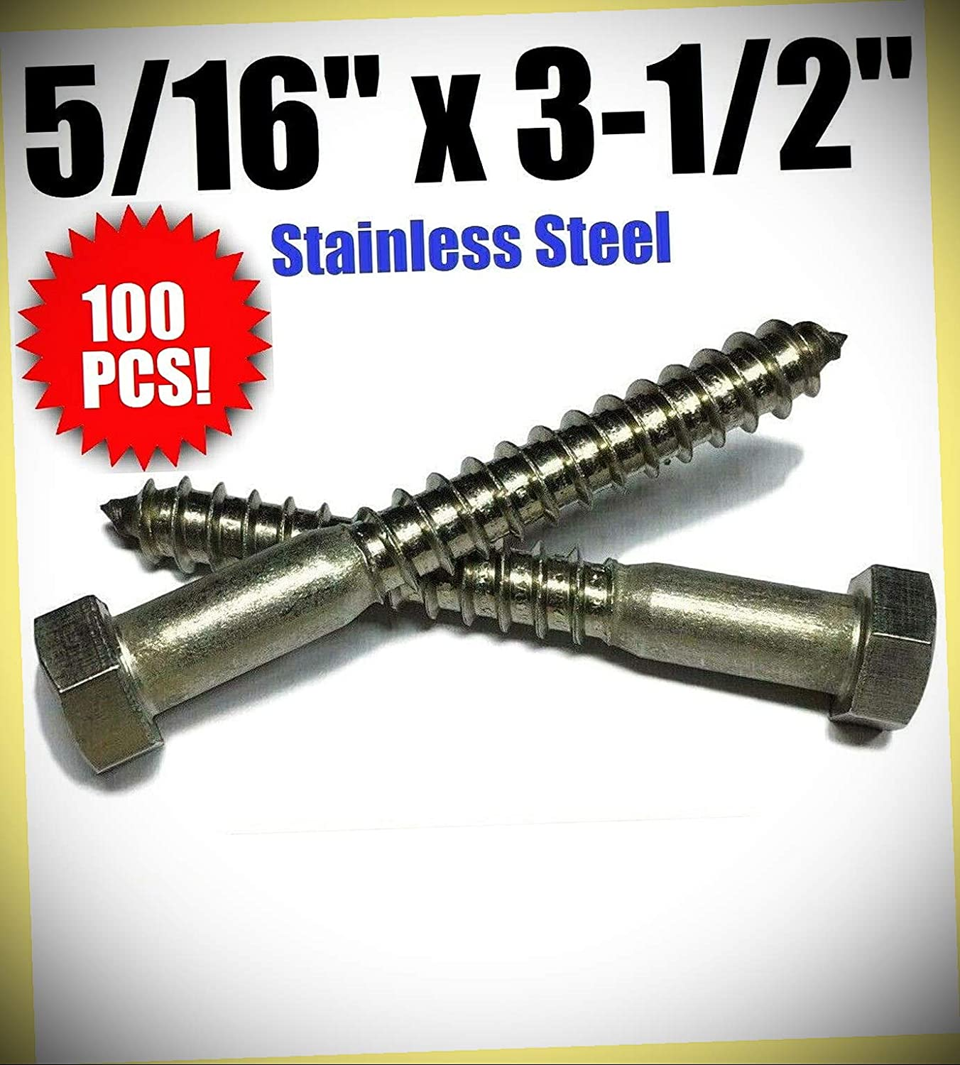 Package of 100 pcs 5 16