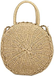 Best circle straw tote Reviews