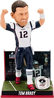 Forever Collectibles Tom Brady New England Patriots Super Bowl Special Edition - 5th Win Bobblehead