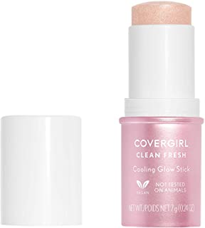 COVERGIRL clean fresh cooling glow stick, translucent, 1 count, 0.25 Ounce