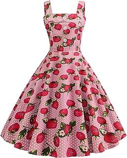 Best cherry print prom dress Reviews
