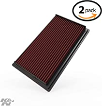 K&N Engine air Filter, Washable and Reusable: 1981-2019 Nissan/Infiniti/Renault L4/V6 (Maxima, Murano, Pathfinder, Altima, Elgrand, Quest, Terena, X-Trail, QX60, FX35) 33-2031-2-2 Pack