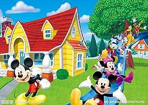 360 x 254 cm Un Apr/ès-Midi Joueur Donald Duck Et Amis 1art1 Mickey Mouse Poster Papier Peint Minnie Mouse