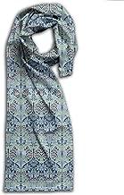 William Morris Bluebell Columbine Long Scarfs Womens Stylish Shawl Wrap Large Blanket For Fall & Winter 11