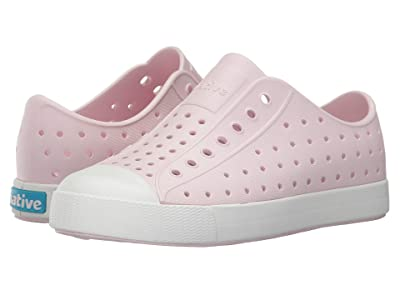Native Kids Shoes Jefferson (Little Kid) (Milk Pink/Shell White) Girls Shoes
