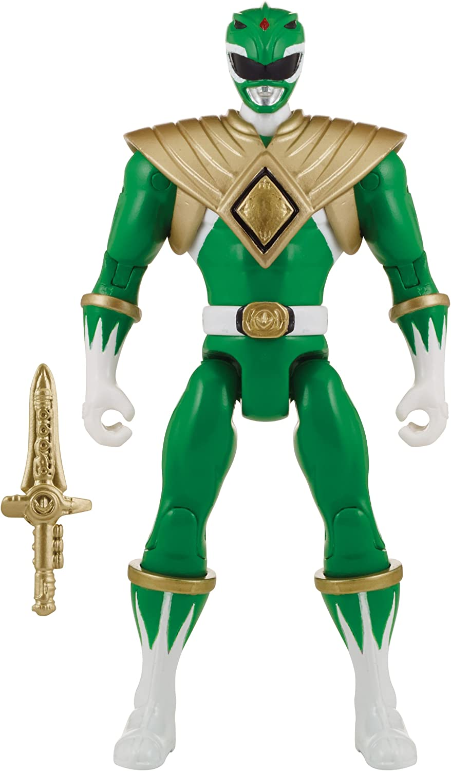Power Rangers Super Megaforce  Mighty Morphin Green Ranger Action Hero, 5Inch by Power Rangers