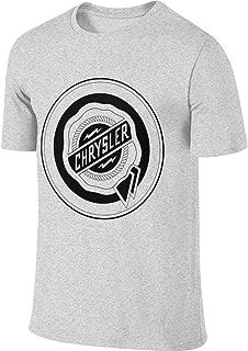 JUDSON Mens Custom Breathable Tee Shirt Chrysler Logo FCA T-Shirt