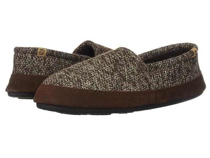Acorn   Moc (Brown Tweed) Mens Shoes