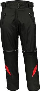 Ledershop online Bangla 1711 Damen Motorradhose Tourenhose Textil Cordura 600 Schwarz Rot XL