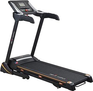 جهاز مشي كهربائي لللياقة البدنية يتحمل وزن حتى 135 كجم من توب فيت MT-321 - اسود وفضي