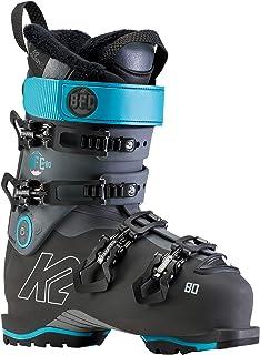 K2 BFC W 80 - Botas de esquí para Mujer, Color Gris y Azul