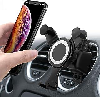 車載ホルダー Smartmago【2019進化版】スマホホルダー 伸縮アーム クリップ式&吹き出し口 360度回転可能 多機種対応
