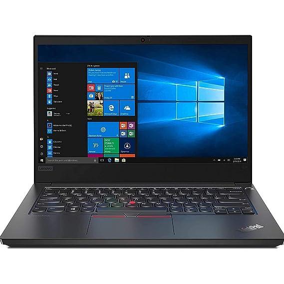 Lenovo ThinkPad E14 Intel Core i7 10th Gen14-inch Full HD IPS Thin and Light Laptop (16GB RAM/ 1TB HDD+256GB SSD/ Windows 10 Home/ Microsoft Office Home & Student 2019/ Black/ 1.69kg), 20RAS0AM00