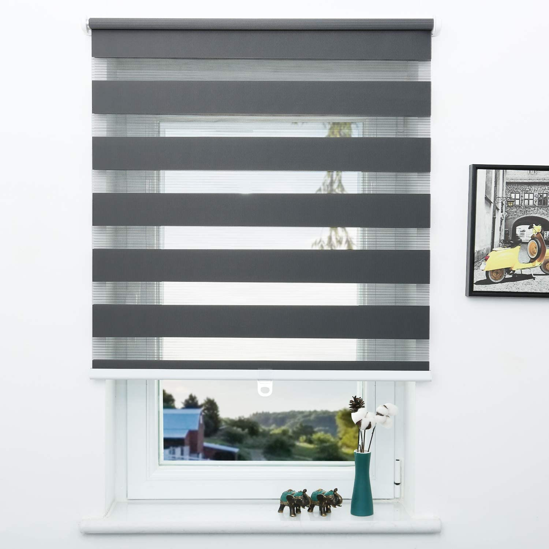 SUNFREE 2021 Cordless Zebra Roller Luxury goods Shade Window Gre and Blinds