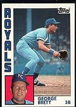 Baseball MLB 1984 Topps #500 George Brett Royals