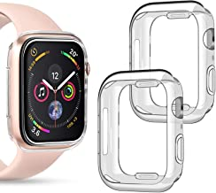 Goton Compatible iWatch Apple Watch Case 40mm SE / Series 6 / Series 5 / Series 4 , (2 Packs) Soft TPU Shockproof Case Cov...