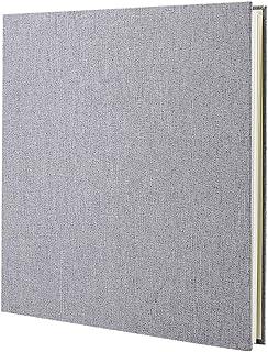 VEESUN Album Photo Scrapbooking, Livre de Lin Album Photo Adhesif, 28 cm x 27 cm Pages Vierges, Cadeaux de Noël, d'anniver...