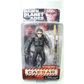 NECA Dawn of The Planet of The Apes 7 Scale Action Figure /Series 2 Caesar with Shotgun 29036