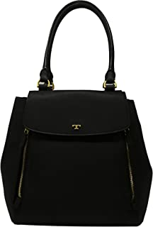 Tory Burch Leather Half-Moon Tote