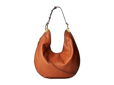 Vince Camuto Ashby Hobo (Stable Brown) Hobo Handbags